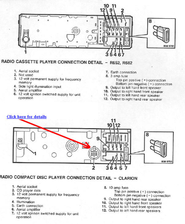 800 Radio Iso Connections