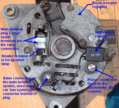 Lucas Alternator Wiring Diagram